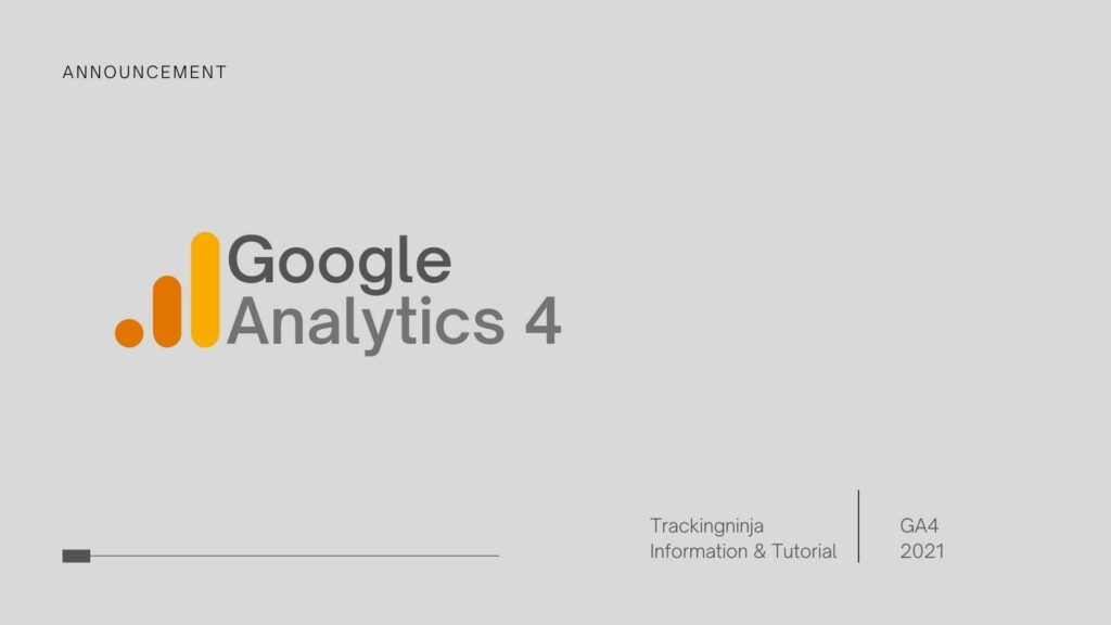 Google Analytics 4 - GA4 - Step by step guide